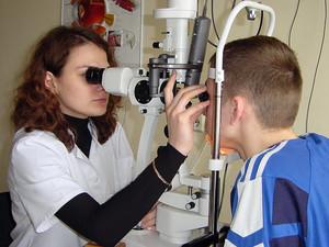 Измерение оптической установки глаз
