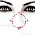 Комплекс № 1 упражнений для глаз