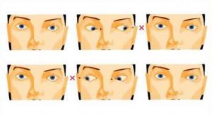 Комплекс № 2 упражнений для глаз