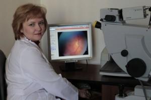 Заведующая офтальмологическим отделением Вера Решетникова рассказала о глазах
